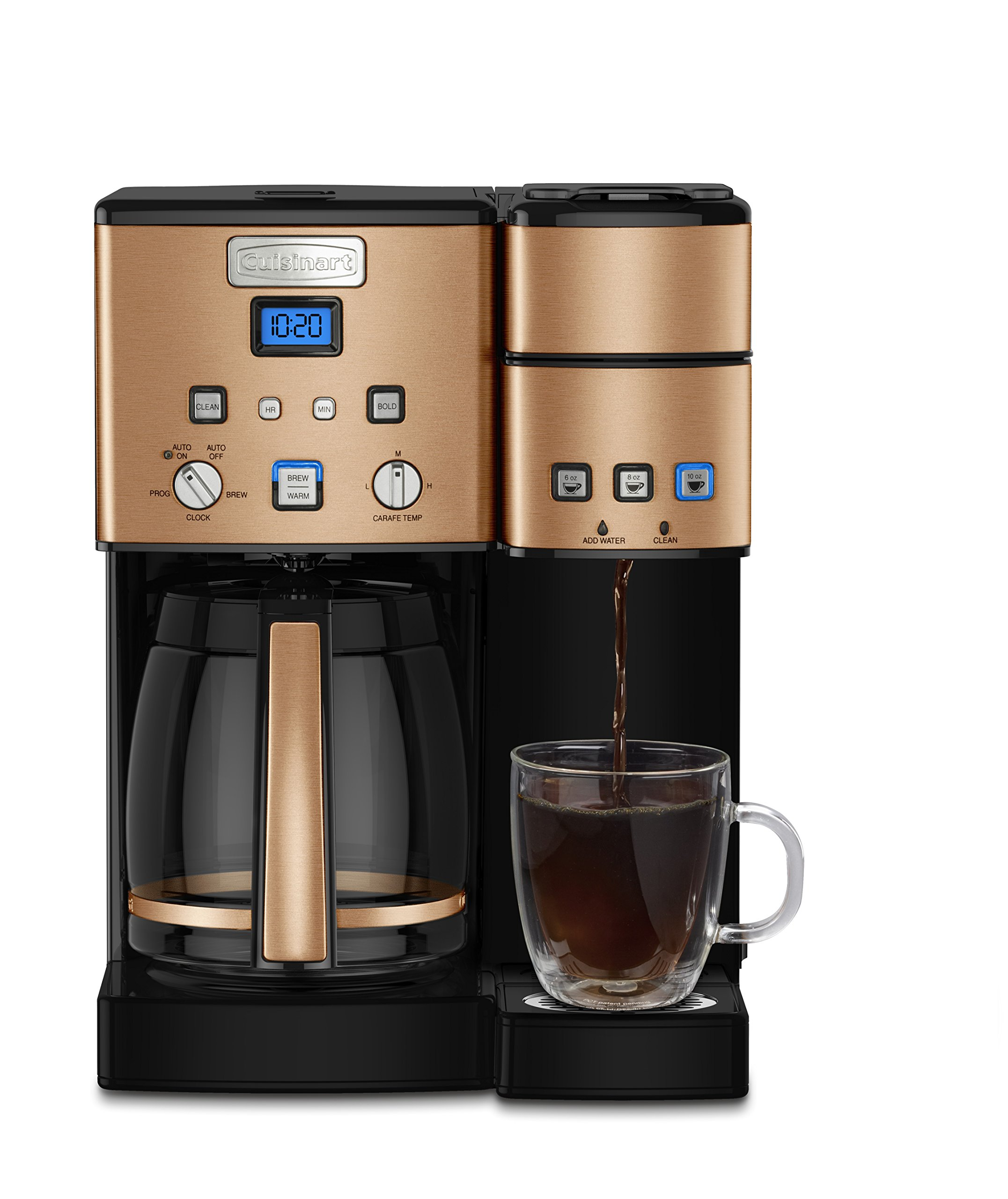 Buyrcom Cuisinart Ss 15cp 12 Cup Coffee Maker And Single Serve