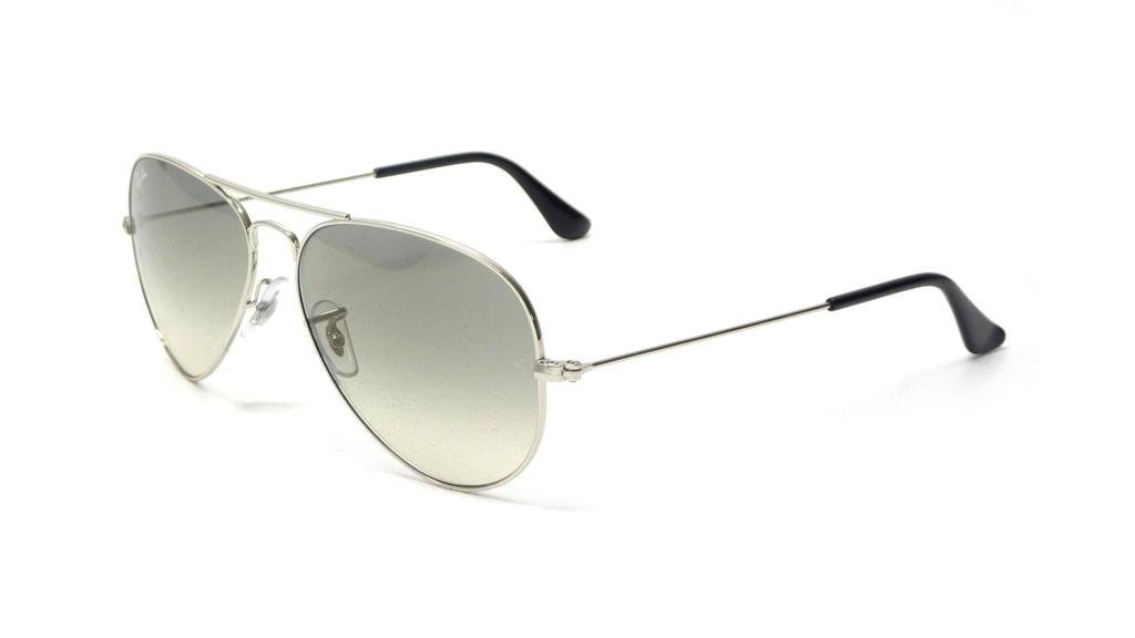 431258c8b2 Ray Ban RB3025 003 32 55 Silver Gray Gradient Large Aviator Bundle-2.  Sunglasses