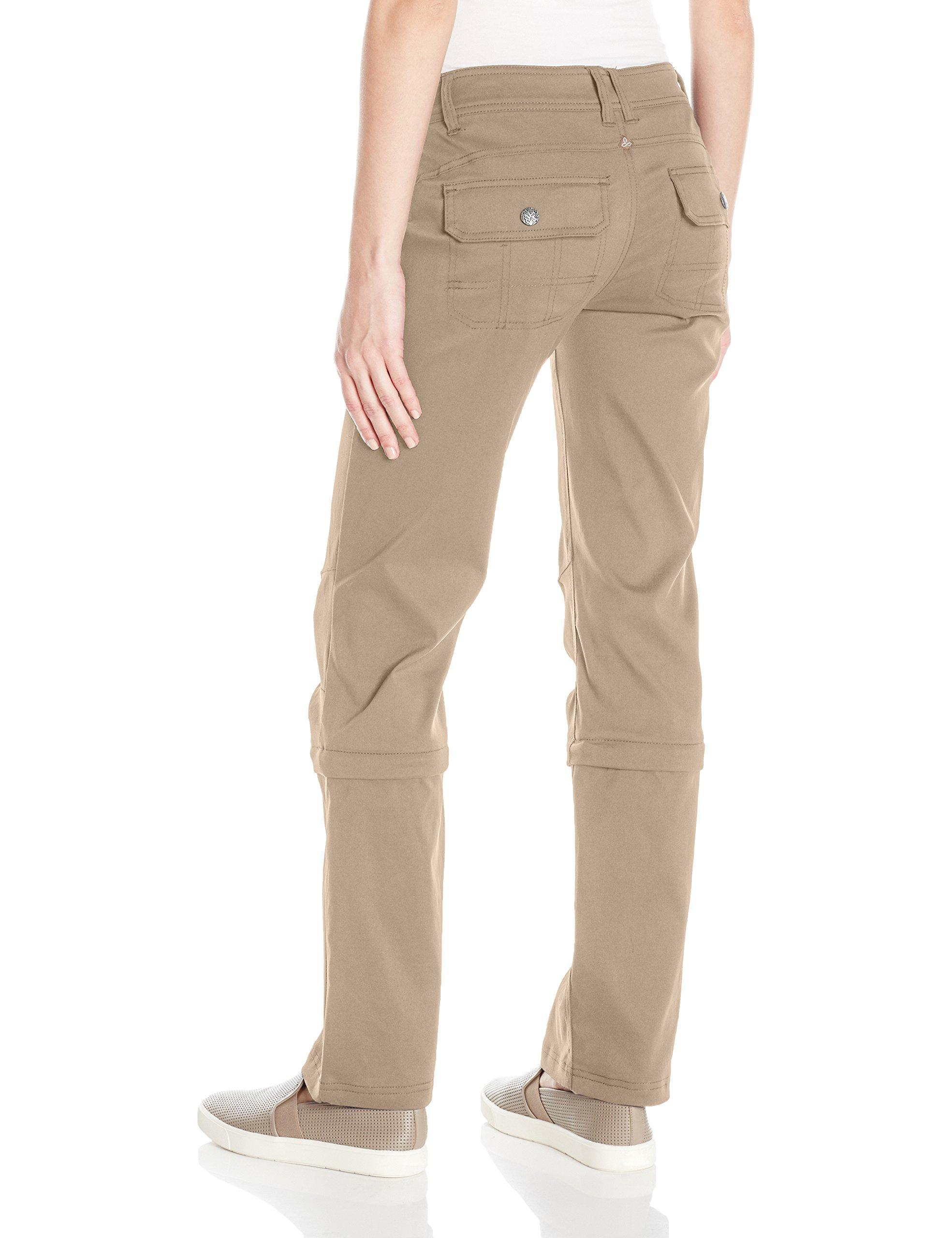 6efd9b8d2 Buyr.com - prAna Women's Halle Convertible Pant - Reg, Dark Khaki, 6