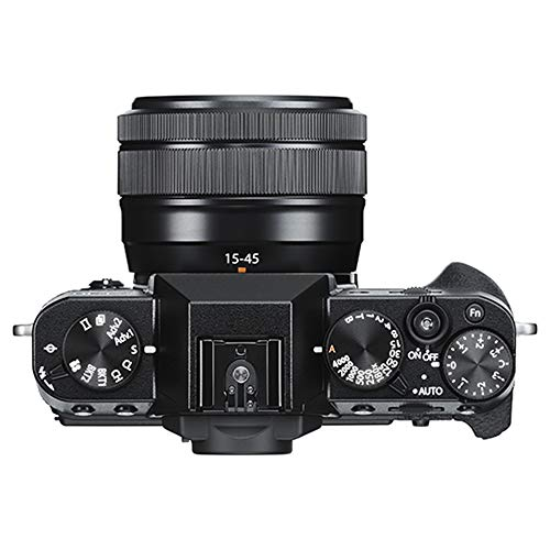 Fujifilm X-T30 Mirrorless 4K Wi-Fi Digital Camera Body with XC 15-45mm Lens Black Filmmaker's Kit with DJI Ronin-SC 3-Axis Handheld Gimbal Stabilizer Bundle + Deco Photo Backpack + 64GB + Software image 1
