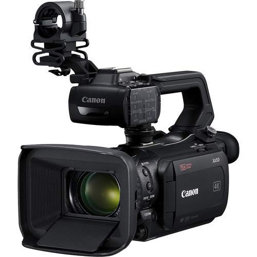 Canon XA50 Professional UHD 4K Camcorder 3669C002 Bundle with Carrying Case + UV Filter + More image 1