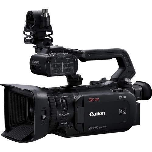 Canon XA50 Professional UHD 4K Camcorder 3669C002 Bundle with Carrying Case + UV Filter + More image https://media.buyr.com/OV18L7E_8BBE8552225D30EB04CD6616F0A43137A4F02887B6F6DF452E00A5F22DFAA5F7-29rCGQutBftigUgLjeanMw.jpg1