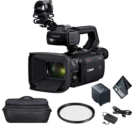 Canon XA50 Professional UHD 4K Camcorder 3669C002 Bundle with Carrying Case + UV Filter + More image https://media.buyr.com/OV18L7E_8BBE8552225D30EB04CD6616F0A43137A4F02887B6F6DF452E00A5F22DFAA5F7-bCjQ_dw08MTJBLhTwFI_Eg.jpg1