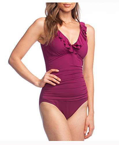Ralph Lauren Lauren Women's Ruffle Surplice One-Piece Swimsuit image 1