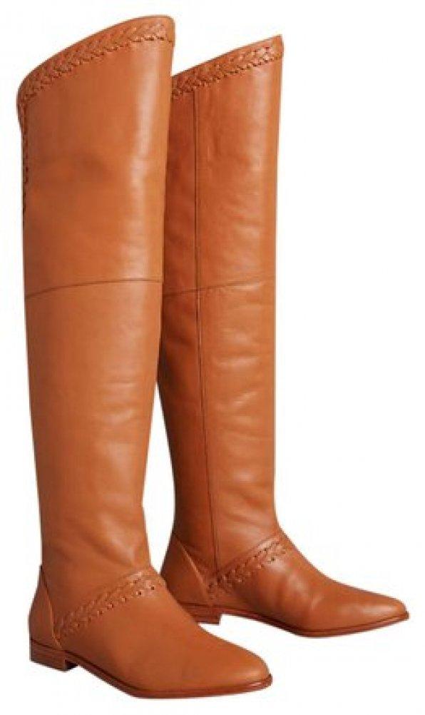 Anthropologie Candela Braided Riding Boots $368 - NWOB image 1