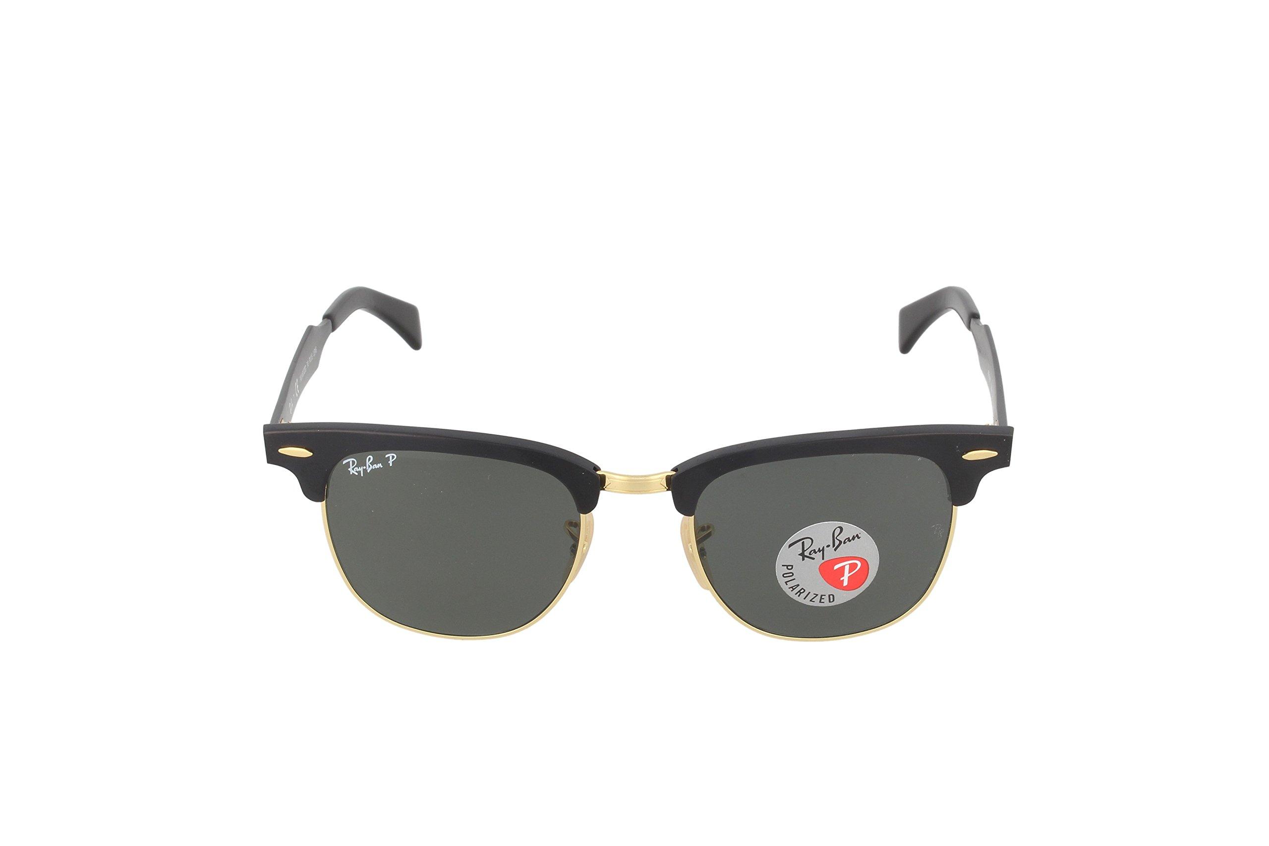 621a85db455fa Buyr.com - Ray-Ban RB3507 136 N5 Clubmaster Aluminum Polarized Sunglasses