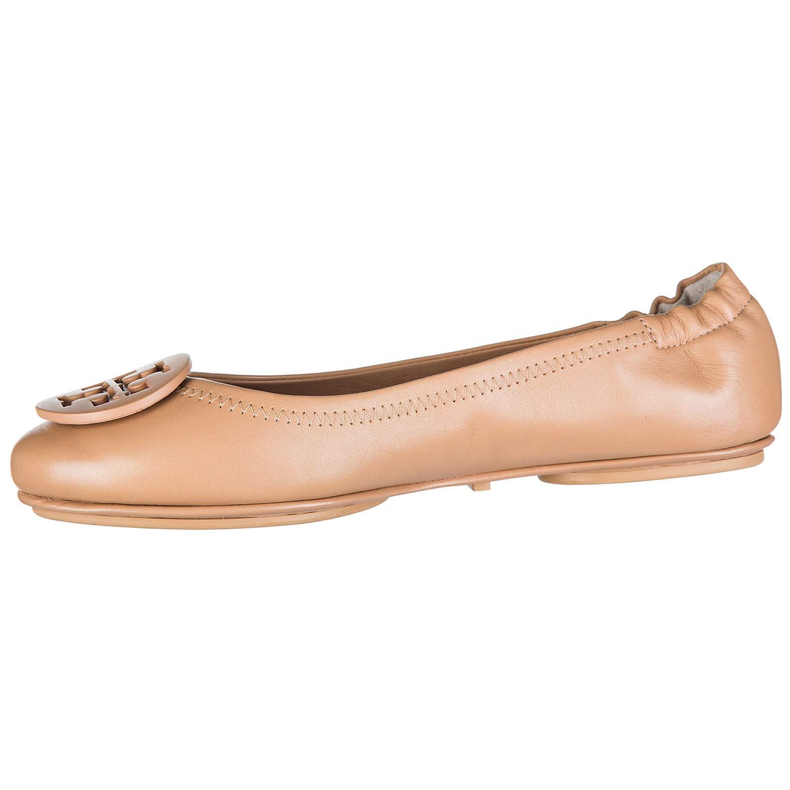 Tory Burch Women's Leather Ballet Flats Ballerinas Minnie Brown US Size 7.5 51158251254 image https://media.buyr.com/yFlfHexwLYGqNP6QWtlKqw--mjNSMGk9T_PCXwk52beRA.jpg1