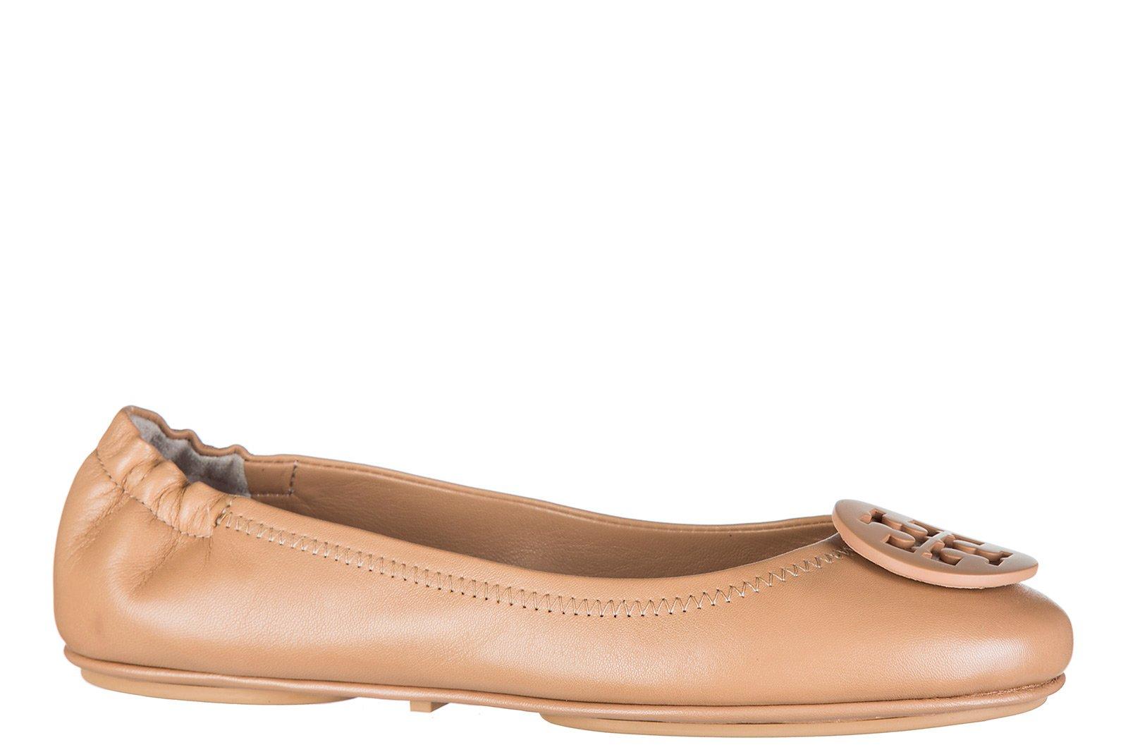 Tory Burch Women's Leather Ballet Flats Ballerinas Minnie Brown US Size 7.5 51158251254 image https://media.buyr.com/yFlfHexwLYGqNP6QWtlKqw-Jn6YtMOXxET3itraigZbxw.jpg1