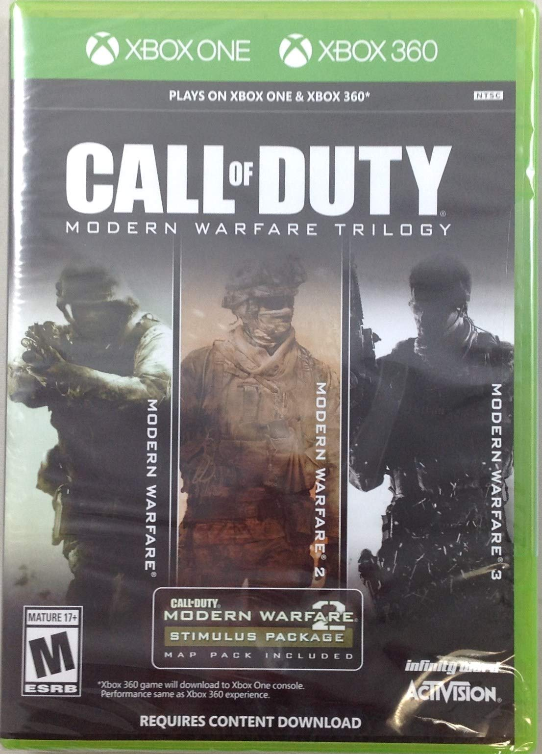 Buyr Com Games Call Of Duty Modern Warfare Trilogy 360 Xone