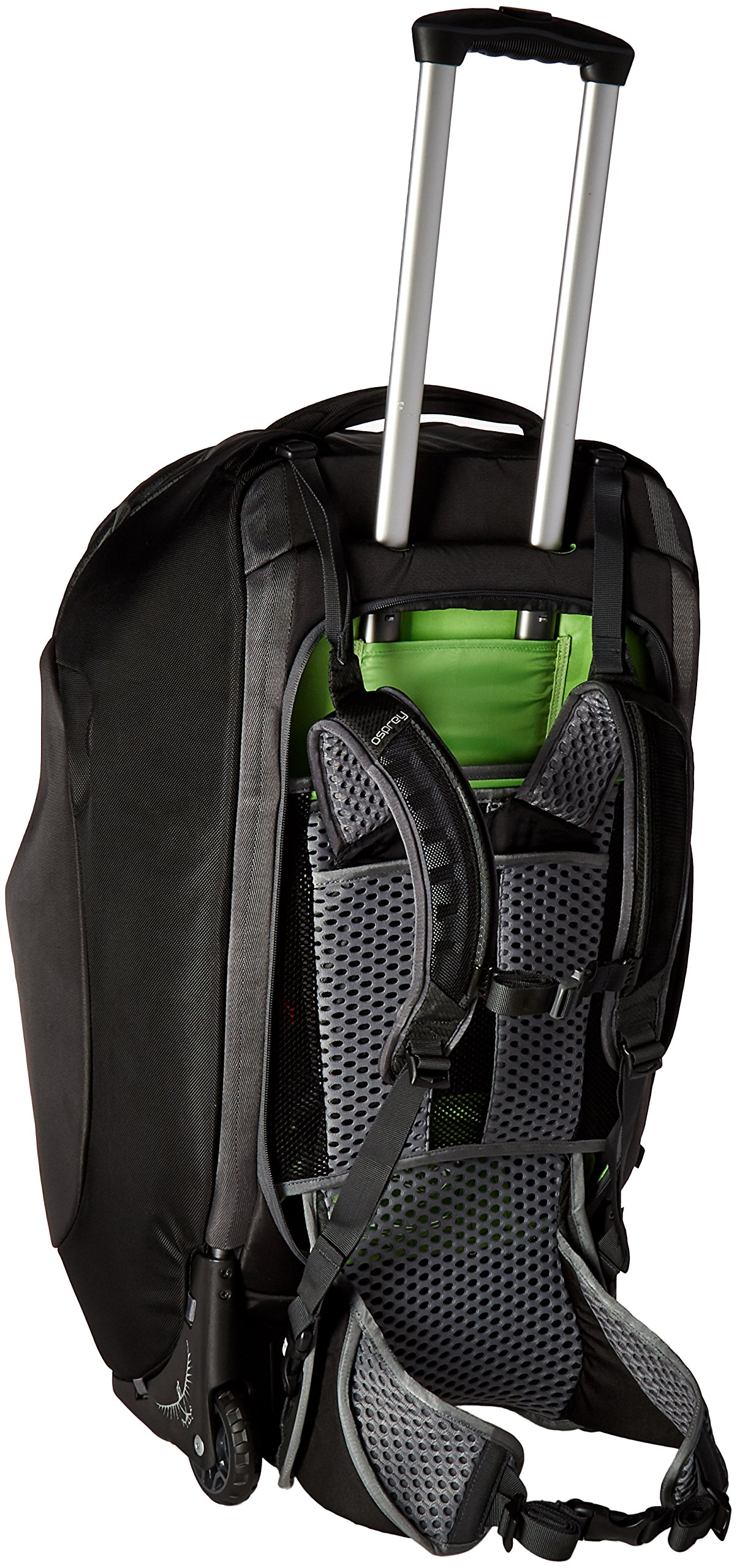 39e396231 Buyr.com - Osprey Packs Sojourn Wheeled Luggage, Flash Black, 80 L/28